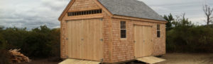Shed Built in New England