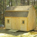 Gambrel Custom Built Shed in New England